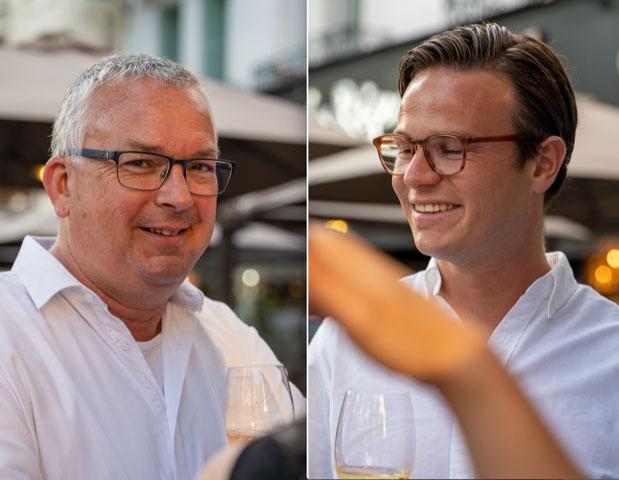 Eric en Maarten van Rooij van Excellence France