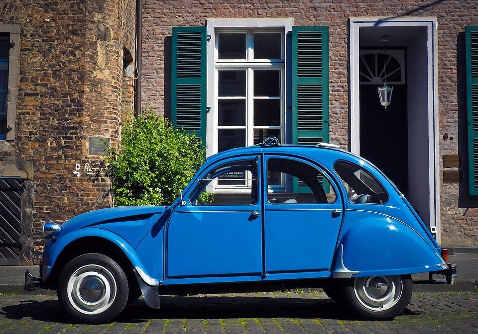 Auto Citroën Duck Citroen 2cv Oldtimer