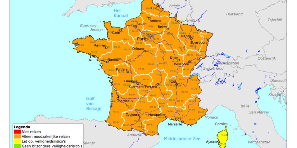 frankrijk oranje