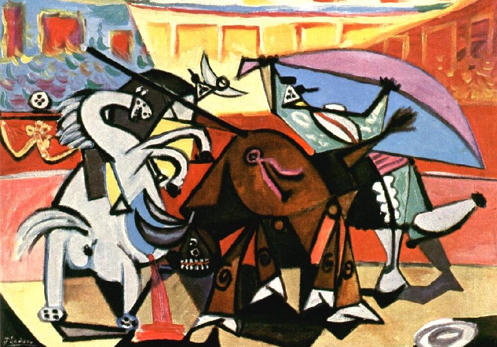 picasso_Bullfight_1934_